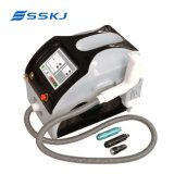 La machine portative de laser de commutateur de ND YAG Q pour le déplacement du tatouage/Eyeline/Lipline et la peau blanchissent