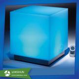 다채로운 점화된 아크릴 LED 저장 상자 전시