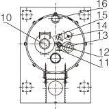 Centrifugeuse automatique de débit de bas de grattoir de plaque plate de Lgz