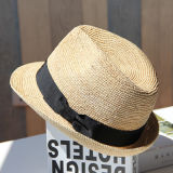 カスタム浜の夏のソフト帽の帽子の人のペーパー麦わら帽子