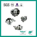 Válvula de verificación soldada estruendo del acero inoxidable 304 316L Stanitary Sfx042