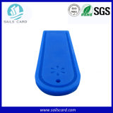Tag Washable da lavanderia do silicone resistente ao calor Gen2 RFID