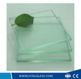 Vidro laminado Tempered desobstruído/cinzento/azul/vermelho para o vidro de indicador (L-M)