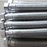 Boyau de métal flexible avec les garnitures soudées