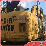 Color original de tamaño mediano utilizado Komatsu PW160 Excavadora de ruedas para la venta