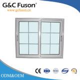 Алюминиевое отражательное стеклянное Windows с конструкцией решетки с рамкой