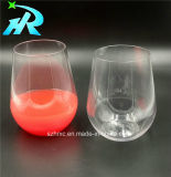 tazza Stemless acrilica dell'acqua di vetro di vino dell'animale domestico 15oz