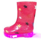 Le PVC d'Ankel DEL d'enfants amorce les gaines de pluie claires de gosses de mode