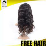 Выдвижение человеческих волос парика фронта шнурка скручиваемости Bebe 40 дюймов