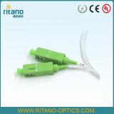 accoppiatori ottici della fibra di 2X2 Sc/APC, fibra rivestita resa resistente di 0.9mm
