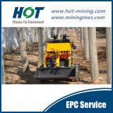 Mini Forklift do mini carregador do boi do patim do carregador Alh280