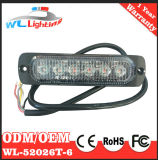 CC ambrata 12-24V dell'ambulanza 6W LED Lighthead