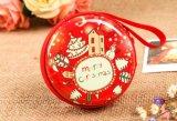 El bolso de Macaron de la moneda de la Navidad de la hojalata embroma el regalo