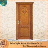 Desheng最新のデザイン木のドアの内部の木のドア部屋のドア