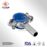 Sostenedor Hex sanitario/percha del tubo de las instalaciones de tuberías del acero inoxidable del precio de fábrica 304/316L