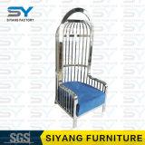 Cadeira de aço do lazer da cadeira do braço de China do distribuidor da mobília do hotel