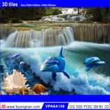 azulejo Polished de la porcelana del mundo del mar 3D para el material de construcción (VPA6A137)