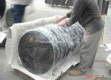 Dessus de marbre de table ronde de granit pour diner des meubles