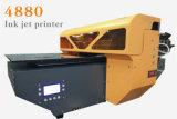 Высокоскоростной твердый материальный рекламируя принтер алюминиевого листа UV планшетный