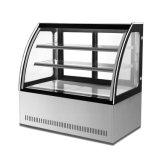 Réfrigérateur d'étalage de gâteau