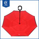 Volledige Lichaam van de Manier van het Embleem van het Merk van de douane keerde het Populaire Omgekeerde Paraplu om