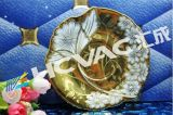 Macchina di rivestimento dorata di placcatura PVD di colore degli articoli per la tavola delle mattonelle di ceramica/tazze/piatti