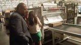 PE krimpt de Dubbele Partij van de Film Verpakkende Machine voor Ronde Kruk