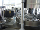 Adhesivo termofusible automático de la botella de líquido de la máquina de etiquetado