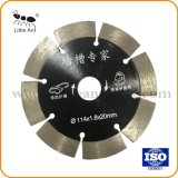 """114mm/4.5"""" de hardware de la pared Disco de corte Herramientas de prensado en caliente de la hoja de sierra de diamante sinterizado para pared"""