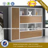 Muebles de dormitorio armario ropero de melamina brillante (HX-8N0755)