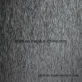 Tessuto nero del sofà della pianura del Chenille (FTH31118)