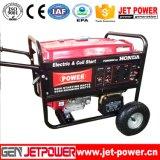 começo 10kw elétrico com o gerador da gasolina da bateria 10000W