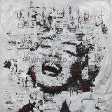 Het abstracte Decor van de Muur van het Olieverfschilderij Porttrait voor Marilyn Monroe