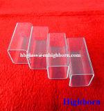 Tubo di vetro di silicone fuso del quadrato di Manufacurer