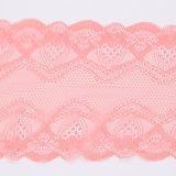 Розовый французский кружево эластичное кружево фрезерования