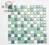 Grün stellte 25*25mm keramische das Mosaik-Fliese für Dekoration, Küche, Badezimmer und Swimmingpool ein