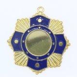 カスタム高品質はロゴのダイカストの連続したメダルを