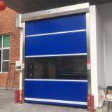Раздвижная дверь двери завальцовки PVC промышленной двери завальцовки высокоскоростная