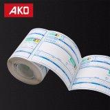 Escrituras de la etiqueta de la logística con el papel adhesivo Ap2001 del Semigloss