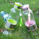 [بورتبل] واضحة رياضة سفر ثمرة [إينفوسر] يكوّن ماء زجاجيّة ليمون مرشّح زجاجة