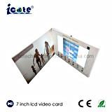 Sehr populäre 7 Zoll LCD videoc$broschüre-video Karte für Geschäft
