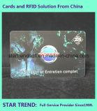 UV 코팅은 고객을%s 자석 줄무늬를 가진 PVC 카드를 만들었다