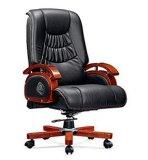 Cadeira baixa de cinco estrelas do giro de madeira traseiro limpável da função