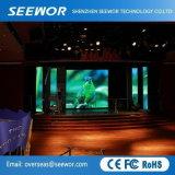 Leichte P6mm Innen-LED-Bildschirmanzeige für Miete