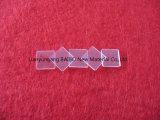 Limpar a placa de vidro de quartzo Óptico Quadrados