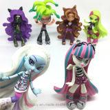 Cifra elevata giocattoli del PVC di serie dei caratteri del mostro