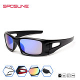 El revestimiento de espejo Rx Gafas de protección anti-UV Lente azul gafas de sol Gafas de sol al por mayor