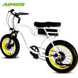白いカラーしみ電池48V 20.3ah 48V 750Wの電気バイク