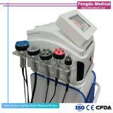 Multifuncionales láser Lipo cavitación RF cuerpo vacío de la máquina de adelgazamiento