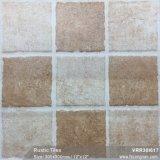 Los materiales de construcción del suelo rústico porcelánico azulejos mate para la decoración (VRR30I630, 300x300mm)